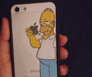 bart simpson, ph, and iphone image