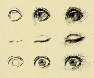 eyes, draw, and art image