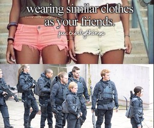 clothes, friendship, and funny image