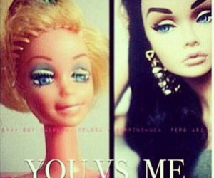 barbie, funny, and me image