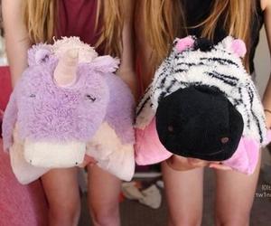 tumblr, unicorn, and zebra image