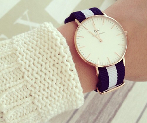 watch, fashion, and daniel wellington image