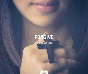 cross, god, and forgive image