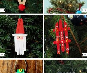 christmas, diy, and christmas tree image
