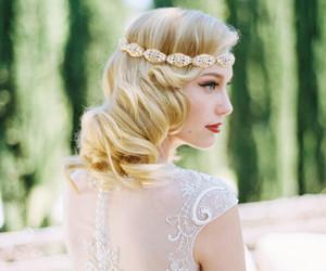 beautiful, beauty, and wedding image