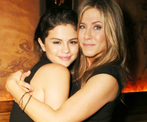 selena gomez, Jennifer Aniston, and selena image