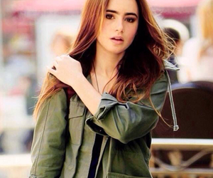 lily collins, beautiful, and style image