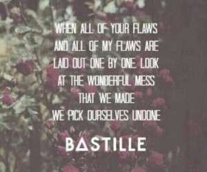 bastille, Lyrics, and music image