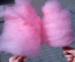 candyfloss and pink image