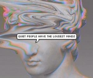 mind, grunge, and quiet image