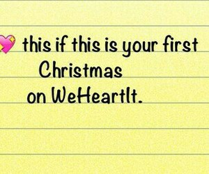 christmas, heart, and weheartit image