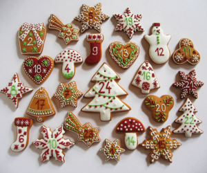 countdown, gingerbread, and christmas is coming image