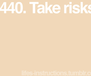 quote, risk, and take image