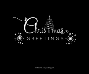 b&w, Best, and christmas image