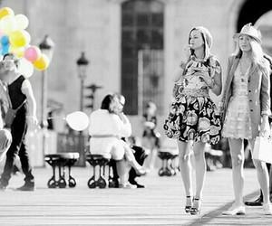 gossip girl, serena, and friends image