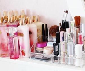 makeup, Victoria's Secret, and pink image