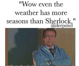 sherlock, fandom, and seasons image