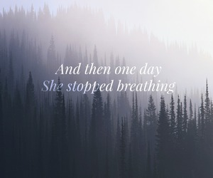 breathing, depressed, and one day image