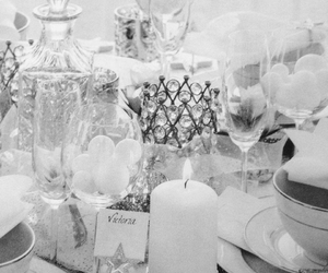 black and white, decorate, and design image