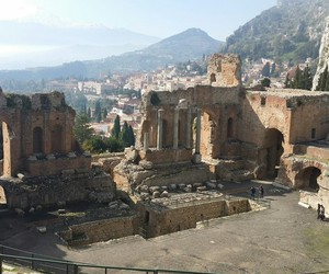 old, sicily, and teatro image