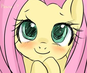 MLP, cute, and fluttershy image
