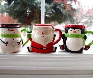 christmas, snowman, and santa image