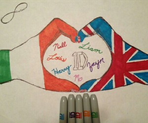 one direction, ireland, and love image