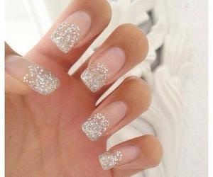 fashion, glittery, and manicure image