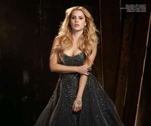 lace, strapless, and claire holt image