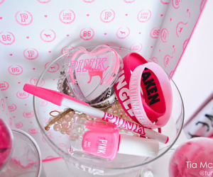 pink, bracelet, and love pink image