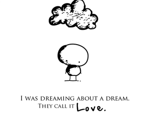 Dream, love, and dreaming image
