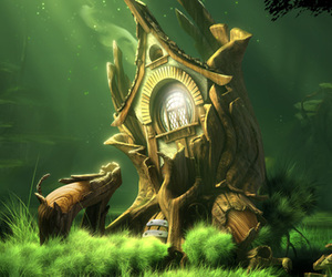 fantasy, tree, and forest image