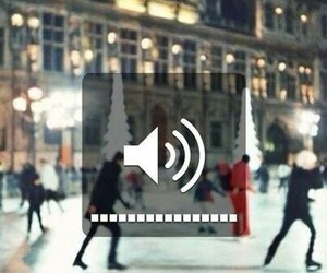 music and winter image