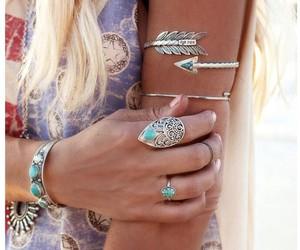 fashion, boho, and jewelry image