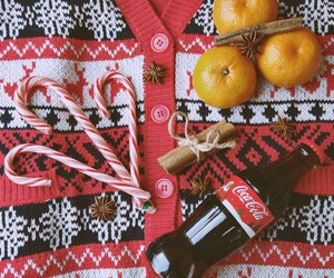candy, cocacola, and mandarin image
