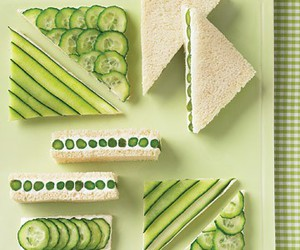 cucumber, food, and sandwich image