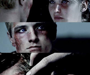 peeta, katniss, and mockingjay image