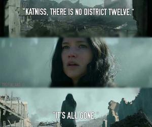 katniss, catching fire, and mockingjay image