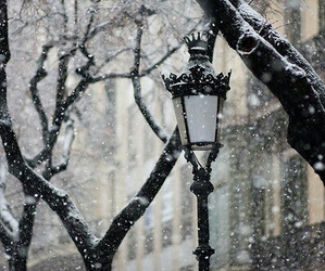 christmas, vintage, and cold image