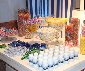 cake, party, and candy table image
