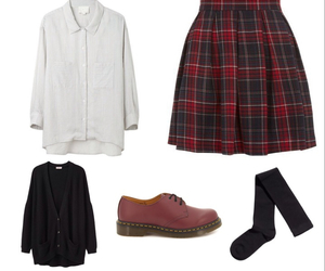 beautiful, clothes, and school image