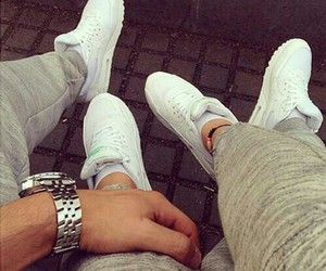 love, couple, and nike image