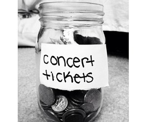 concert, money, and cute image