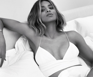 ciara, black and white, and model image