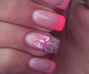 nails, nice, and pink image