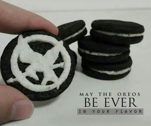 food, oreo, and hunger games image