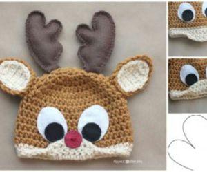 diy, reindeer, and rudolph image