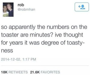 funny and toaster image