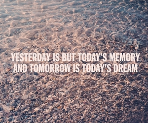 quote, water, and beach image