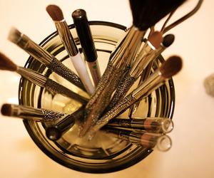 make up, makeup, and Brushes image